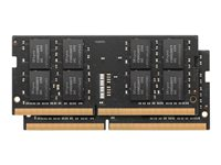 Apple - DDR4 - sett - 32 GB: 2 x 16 GB - SO DIMM 260-pin - 2400 MHz / PC4-19200 - 1.2 V - ikke-bufret - ikke-ECC MP7N2G/A